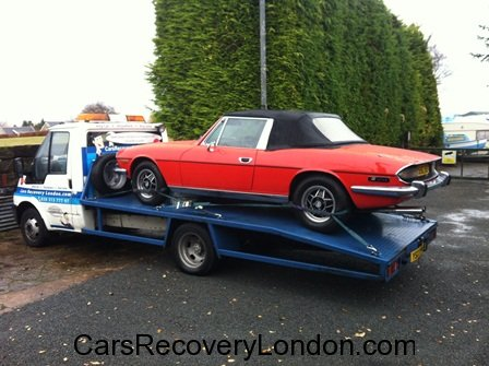 Triumph Stag Transportation