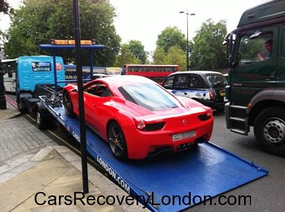 Ferrari car transport, Ferrari car transporters, Ferrari Recovery