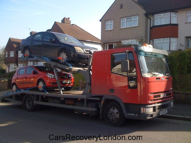 Two car transporter
