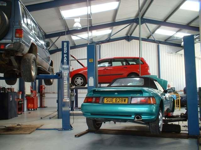 Mechanic garages
